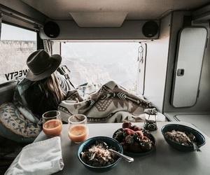 adventure, breakfast, and food image