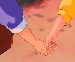 holding hands, akane tendo, and ova image