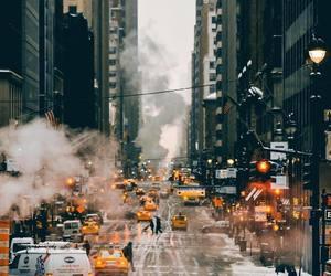 city, cold, and ny image