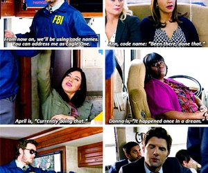 funny, parks and recreation, and parks and rec image