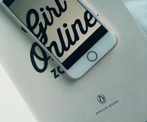 book, girlonline, and fashion image