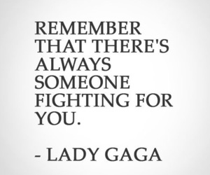 fight, gaga, and love image