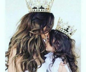 Queen, princess, and daughter image