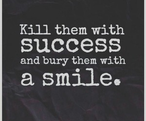 quotes, smile, and success image