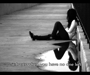 alone, black, and girl image