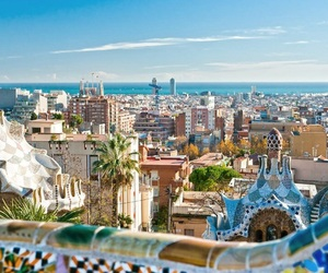 Barcelona, spain, and guell image