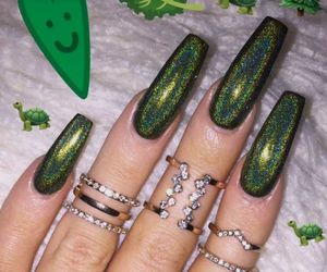 nail art, nails polish, and nail designs image