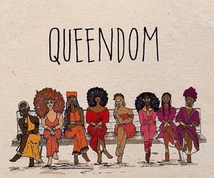 woman, Queen, and queendom image