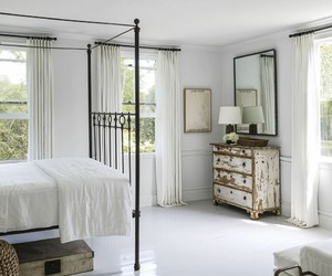 bedroom, country living, and farmhouse image
