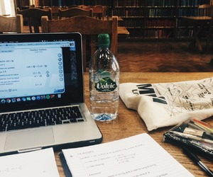 study, studyblr, and coffee image