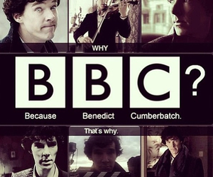 sherlock, bbc, and benedict cumberbatch image
