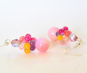 etsy, pierced earrings, and for women image