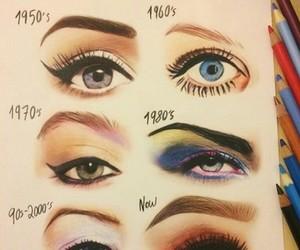 eyes, makeup, and art image