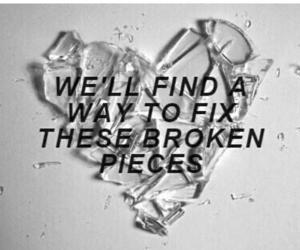 5sos, broken, and heart image