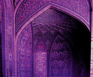 purple, architecture, and mosque image