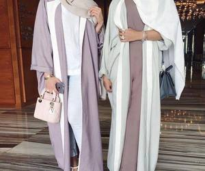 fashion, abaya, and style image