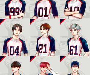 exo, fanart, and love me right image