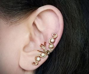 bijoux, earrings, and fashion image
