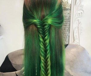 braid, color, and hair goals image