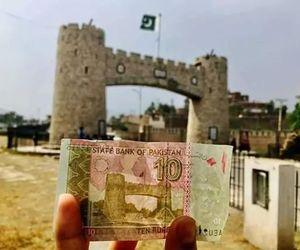 building, money, and pakistan image
