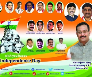 independence, indiannationalcongress, and chiranjeevijetty image