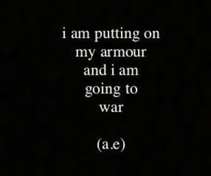 armour, quote, and war image