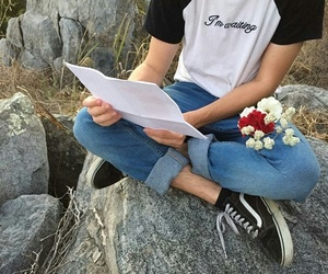 flowers, vans, and alternative image