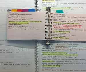 notes, school, and student image