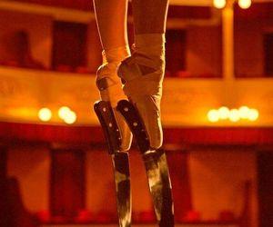 ballet, knife, and dance image