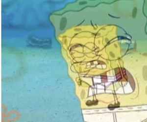spongebob, meme, and reaction image