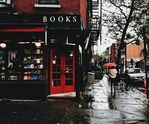 book, dark, and fall image