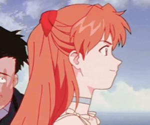 anime, asuka, and eva image