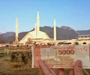 building, money, and rupees image