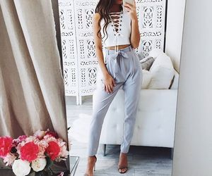 fashion, goals, and outfit image