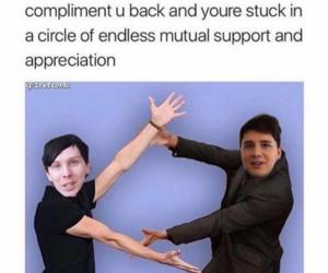 dan, funny, and meme image