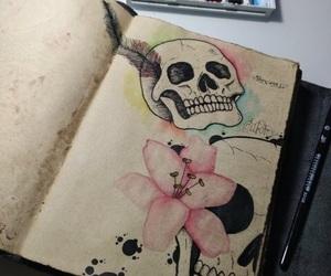 beautiful, pastel, and draw image