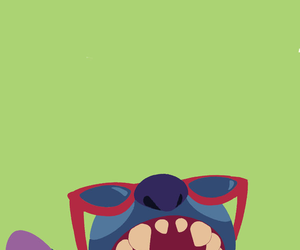blue, stitch, and wallpaper image