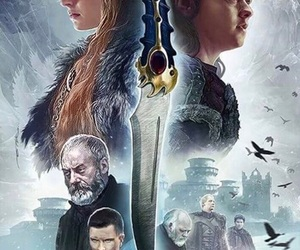 fan digital art, princess of winterfell, and game of thrones season 7 image