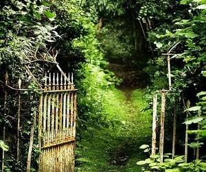 garden and secret image
