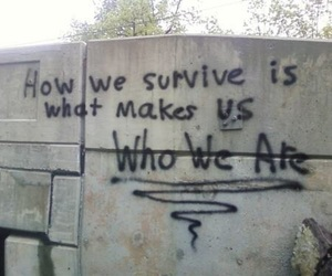 quotes, survive, and grunge image