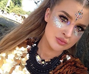 festival, glitter, and weheartit image