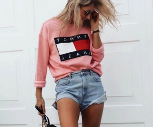 fashion, jeans, and tommy image
