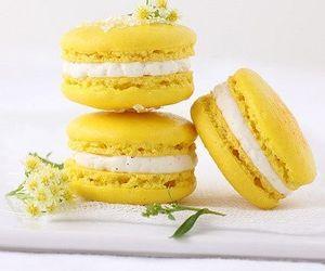 yellow, food, and dessert image