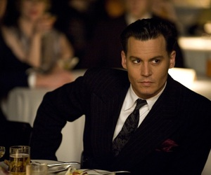 johnny depp, public enemies, and sexy image