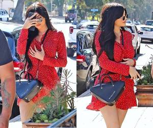 fashion, kylie jenner style, and lips image
