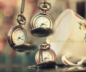 clock, hours, and cool image