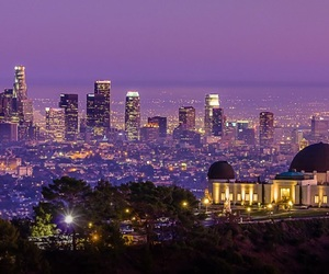 city, city of angels, and hollywood image