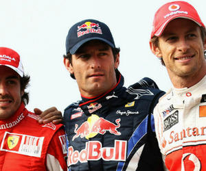 f1, scuderia ferrari, and jenson button image