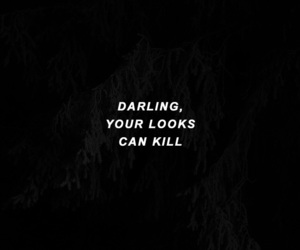 quotes, look, and darling image