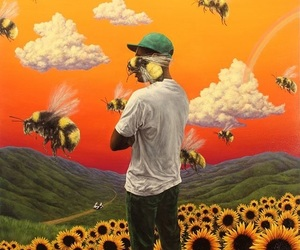 bee, flower boy, and tyler the creator image